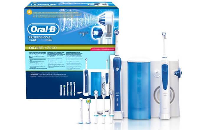 Oral-B Professional Care 3000. Лучшая электрическая зубная щетка 2017.