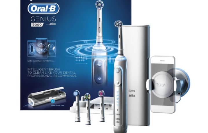 Oral-B Genius 9000. Лучшая электрическая зубная щетка 2017.