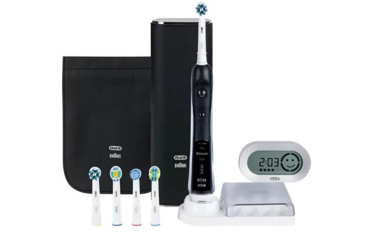 Oral-B Pro 7000. Лучшая электрическая зубная щетка 2017.