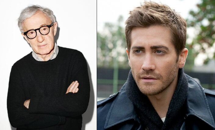Woody Allen and Jake Gyllenhaal. Famous Jews. Actors and other celebrities.