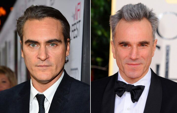 Daniel Michael Blake Day-Lewis and Joaquin Phoenix. Famous Jews. Actors and other celebrities.