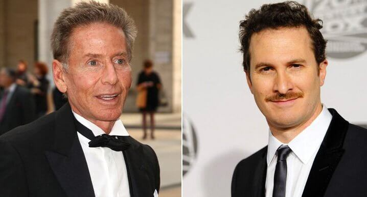 Kelvin Klein and Daren Aronofsky. Famous Jews. Actors and other celebrities.