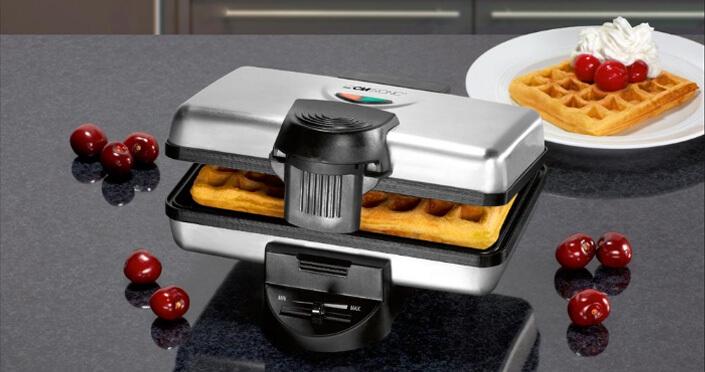 Clatronic WA 3606. Лучшая вафельница.