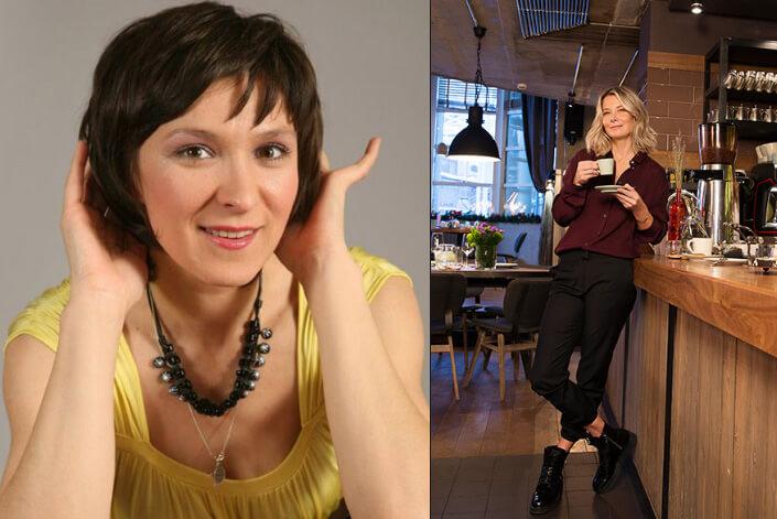 Олеся Железняк 180 см и Юлия Высоцкая 175 см. высокие российские актрисы.
