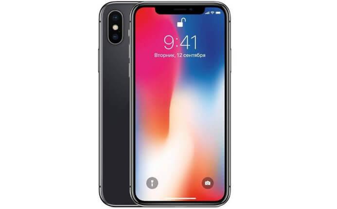 Apple iPhone X 64GB. лучший смартфон 2018