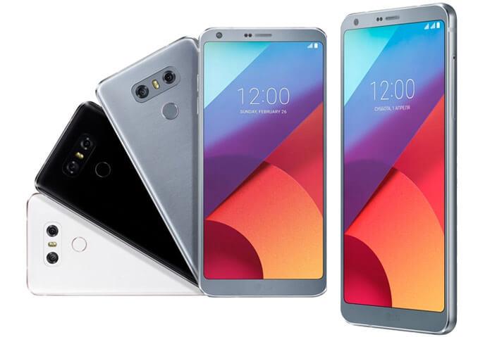 LG G6 H870DS лучший смартфон 2017.