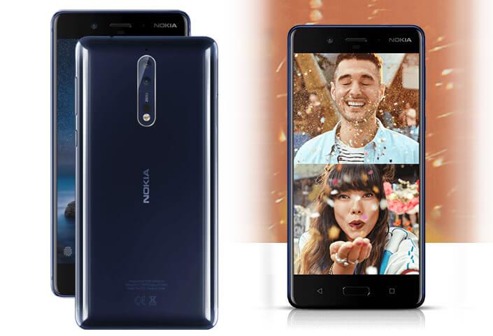 Nokia 8 лучший смартфон 2017.