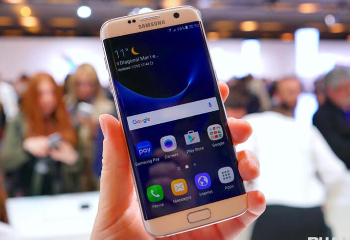 Samsung Galaxy S7 Edge 32Gb. лучший смартфон 2017.