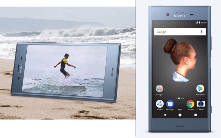Sony Xperia XZ1 лучший смартфон 2017.