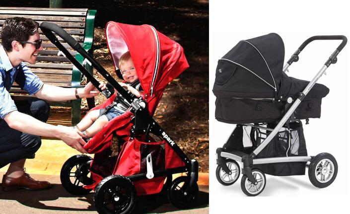 Valco Baby Zee Spark. Лучшие коляски трансформеры.