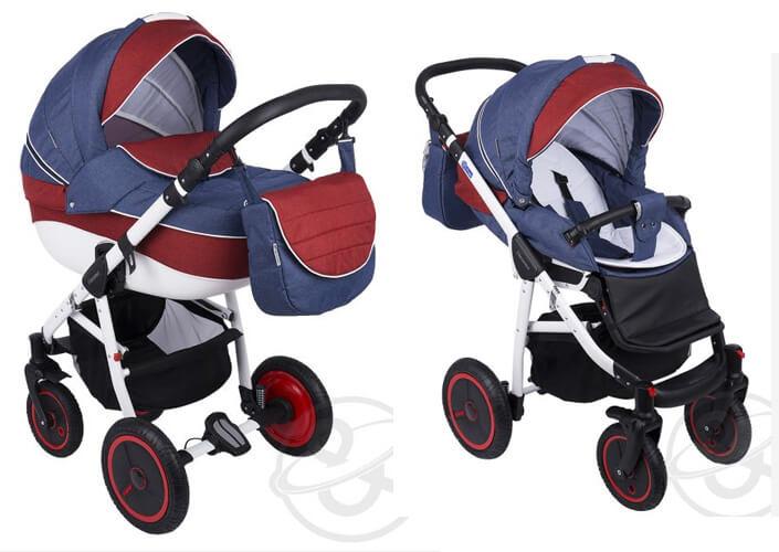 Коляска Adamex Neonex (3 в 1). Лучшие детские коляски 3 в 1.