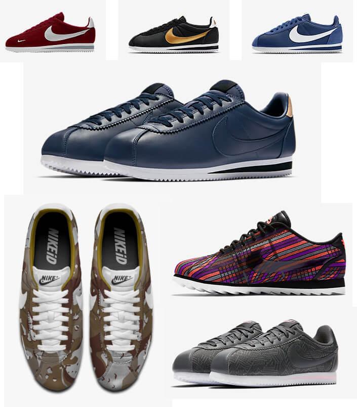 Лучшие кроссовки для ходьбы. NIKE CLASSIC CORTEZ