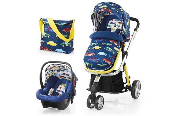 Лучшие детские коляски 3 в 1. Cosatto Woop (3 в 1)