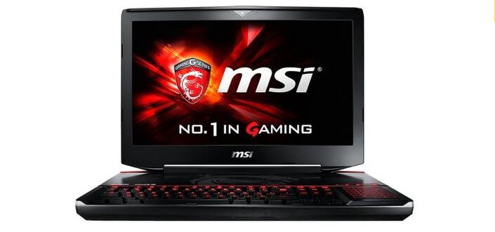 MSI GT80S 6QE Titan SLI. Лучшие ноутбуки 2017 года. Рейтинг.