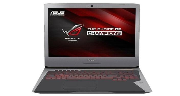 ASUS ROG G752VY. Лучшие ноутбуки 2017 года. Рейтинг.