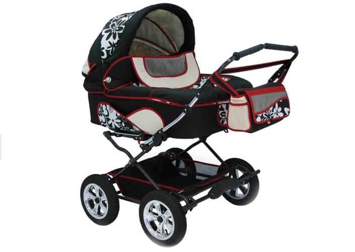Reindeer Twin (с конвертом). Лучшие коляски для двойни.
