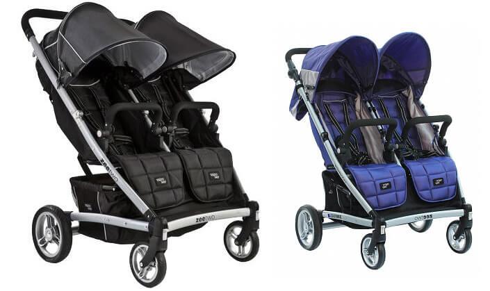 Valco baby Zee Two. Лучшие коляски для двойни.