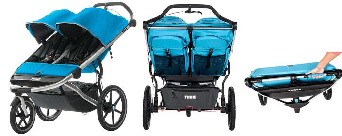 Thule Urban Glide 2. Лучшие коляски для двойни.