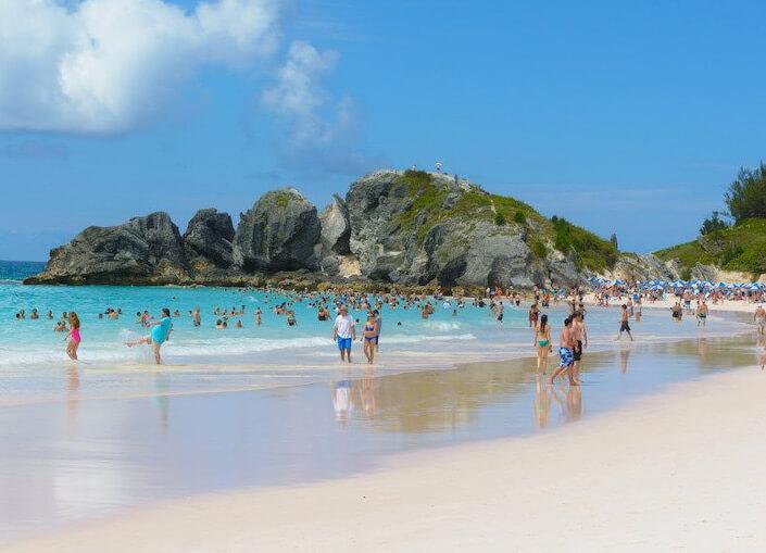 Пляж Horseshoe Bay Beach, Бермуда. Лучшие пляжи мира.