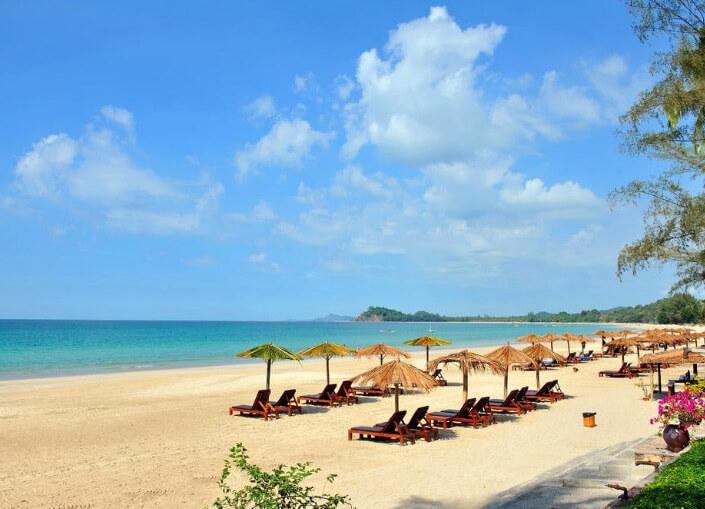 Ngapali Beach, Неополитанский пляж, Мьянма. Лучшие пляжи мира.