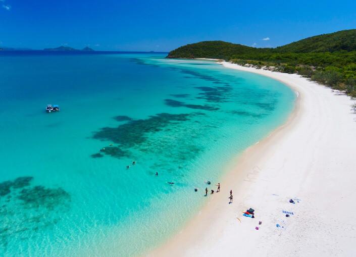 Whitehaven Beach, Австралия