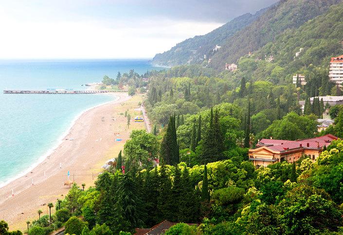 Абхазия. Лучший климат для проживания в России