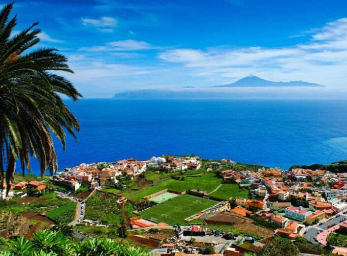 Канарские острова, Испания. лучший климат