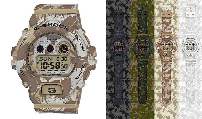 Casio G-SHOCK GD-X6900MC-5E. Лучшие наручные мужские часы 2017.