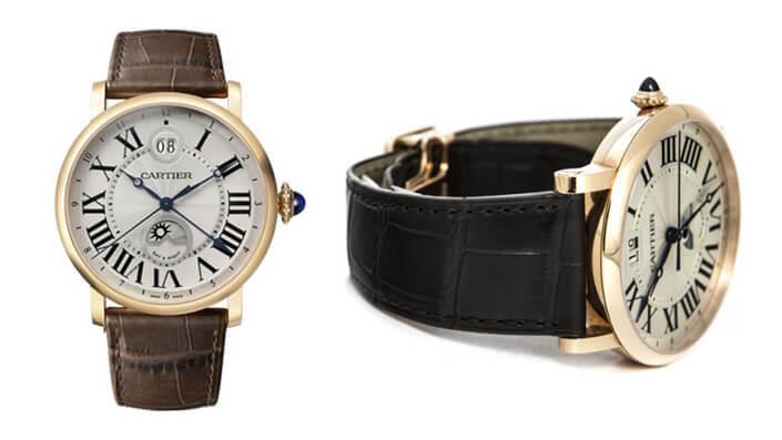 Cartier Ronde Solo W1556220. Лучшие наручные мужские часы 2017.