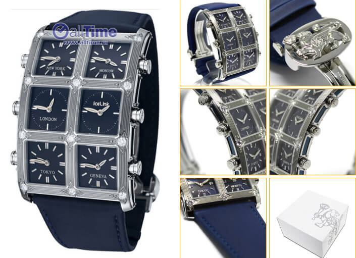 Ice Link AM4SL4D. Лучшие наручные мужские часы 2017.