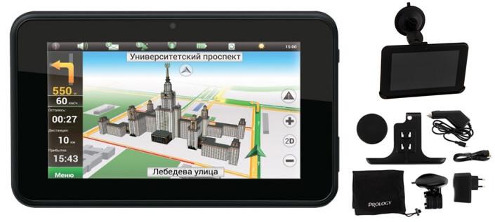 Prology iMap-7700. Лучшие автомобильные навигаторы.