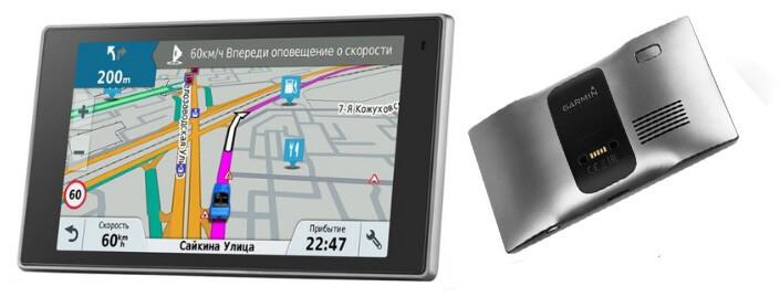 Garmin DriveLuxe 50 RUS. Лучшие автомобильные навигаторы.