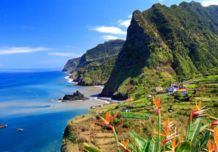 Мадейра, Португалия. лучший климат