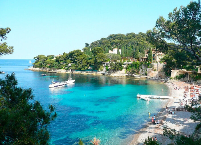 Paloma Beach, Saint-Jean-Cap-Ferrat, France. The Best beautiful Beach in the world 2017