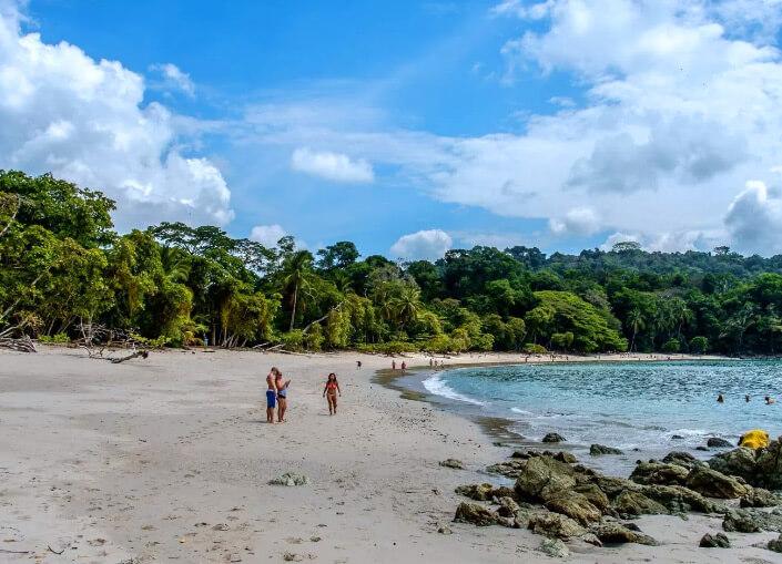 Playa Manuel Antonio, Коста Рика. Лучшие пляжи мира.