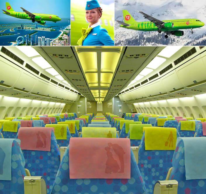 авиакомпания «S7 Airlines». лучшие авиакомпании России
