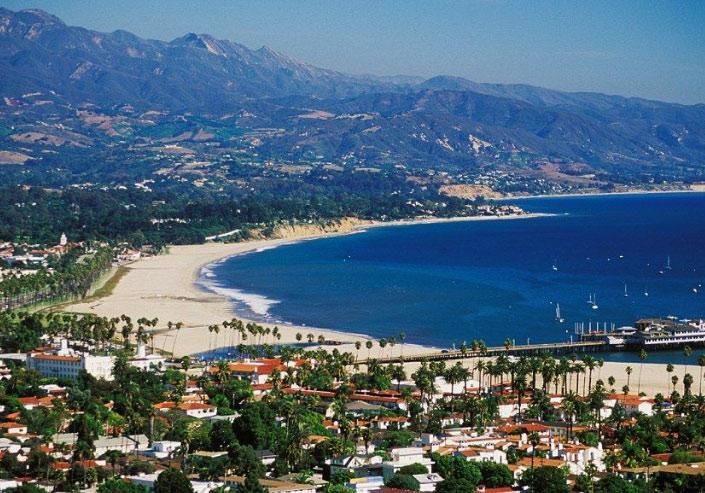 Санта Барбара, Калифорния. лучший климат в мире.