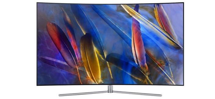 Samsung QE55Q7CAM. Лучшие телевизоры 2017 года.
