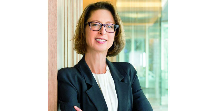 Abigail Johnson. The richest woman in the world. The rating of Forbes 2017.