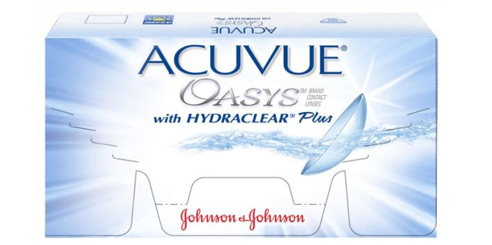 Acuvue Oasys with Hydraclear Plus от Johnson & Johnson