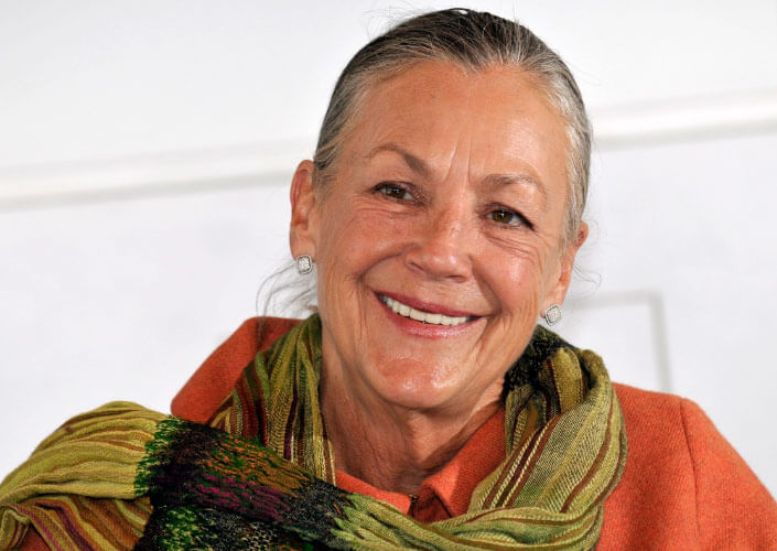 Alice Walton. The richest woman in the world. The rating of Forbes 2017.