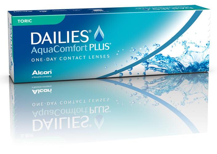 Dailies Aquacomfort Plus - лучшие однодневные линзы