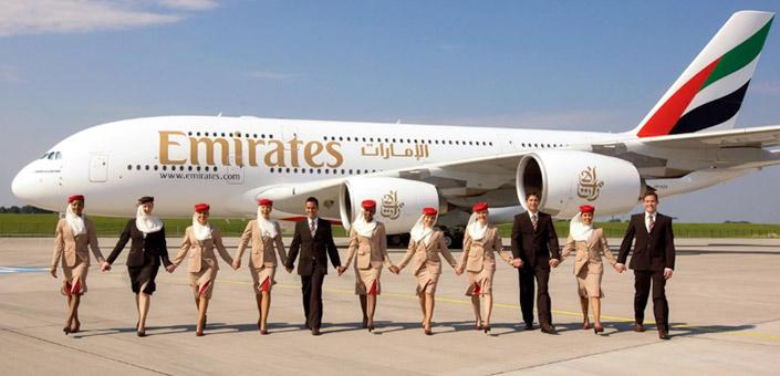 Emirates. Лучшие авиакомпании мира 2017. Рейтинг авиакомпаний