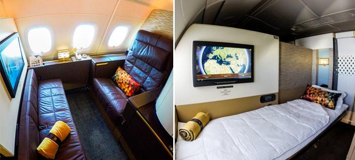Etihad Airways бизнес класс