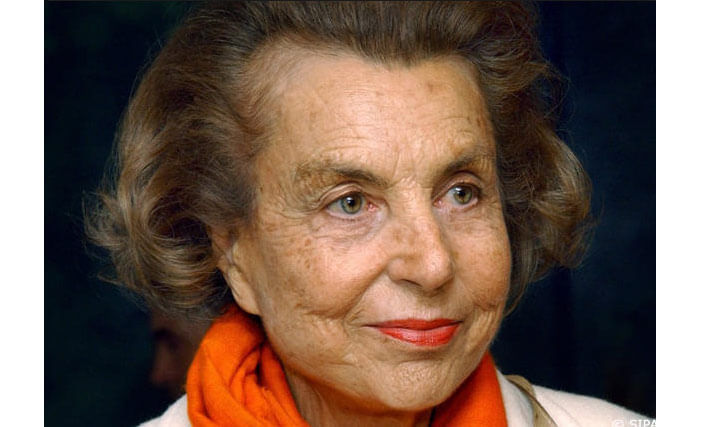 Liliane Bettencourt. The richest woman in the world. The rating of Forbes 2017.