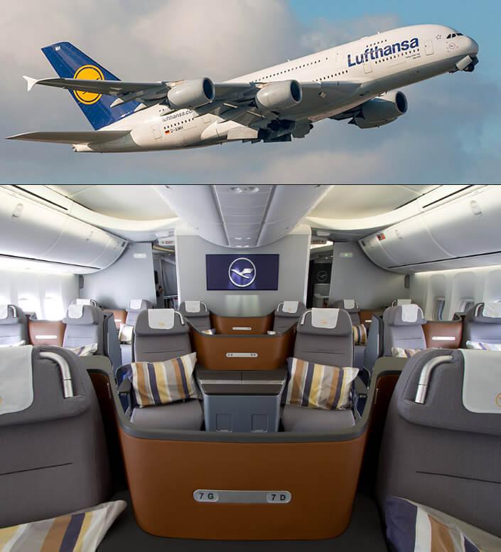 Lufthansa. Лучшие авиакомпании мира 2017. Рейтинг авиакомпаний