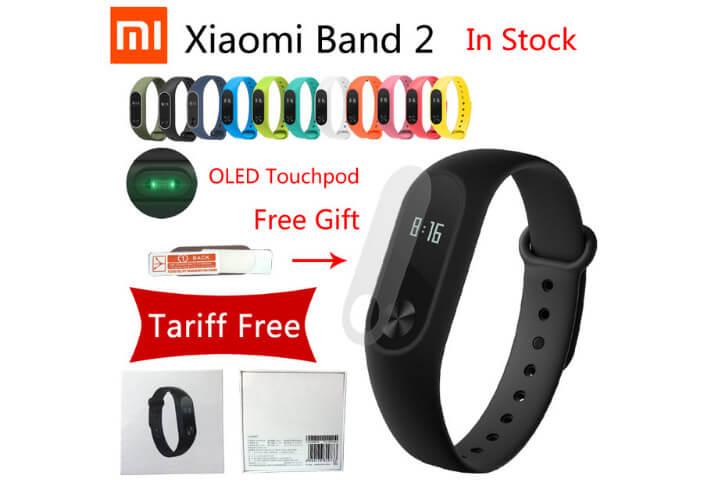 Xiaomi Mi Band 2 умный фитнес браслет