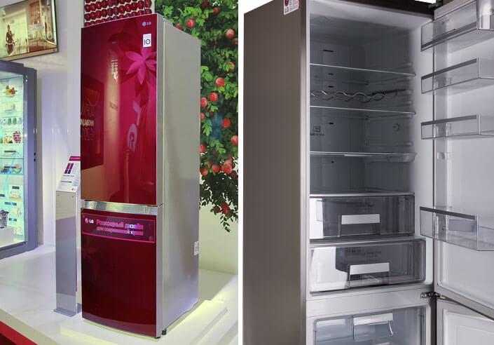 LG GA-B489 TGRF. лучшие холодильники 2017