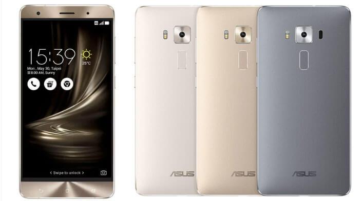 ASUS ZenFone 3 Deluxe ZS570KL 64Gb Лучшие китайские смартфоны 2017 года.