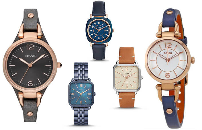 Fossil лучшие женские часы 2017